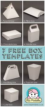 25 Plus Awesome Free Paper Box And Bag Templates