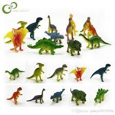 2019 dinosaurs model cute s gifts boys toys hobbies kids mini small plastic dinosaurus figures gyh from jiekeyi20170306 6 9 dhgate