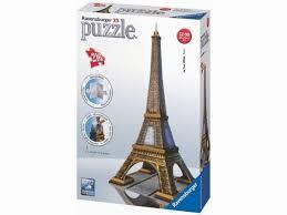 Puzzle Ravensburger Eiffelova Věž 3d 216 Dílků Puzzle
