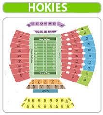 Virginia Tech Lane Stadium Seating Chart Www