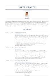Client Relationship Management Resume Relationship Manager Resume Samples Templates Visualcv