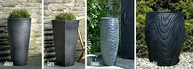 large outdoor pots modern planters big nz to enlarge an