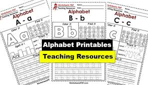Explore the abcs with 800+ printable alphabet worksheets. Free Alphabet Worksheets Printables Pdf