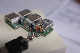 hacking per port power switching into an usb hub befinitiv transistor on usb port