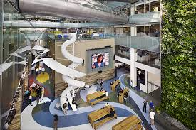 Corus Quay In Toronto Canada  Coming At A Massive 500000 Sq Ft  Entertainment Had Plenty Of Space To Be Creative With To Boost The Productivity  HUH Magazine