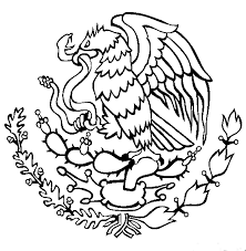 mexican flag eagle drawing.  Eagle Mexico Flag Coloring Page  Gallery Throughout Mexican Eagle Drawing L