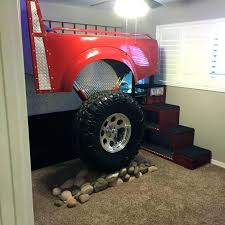 monster truck bedding mons truck bed frame truck bed frame ideas about fire truck beds on