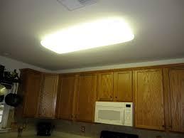 Update Kitchen Fluorescent Light Replacing Recessed Fluorescent Light Fixture In Kitchen