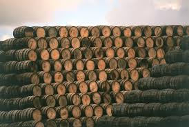oak wine barrel barrels whiskey. 1 / 16 -Whiskey Barrels Hold The Spirit For A Number Of Years To Mature It, With Liquid Extracting Flavor From Wood.Jamie Fullerton Oak Wine Barrel Whiskey H