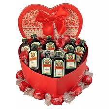 send gifts in europe jagermeister heart party