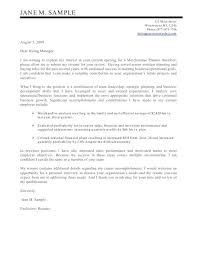 Cover Letter For Manufacturing Related Post Sample Cover Letter For