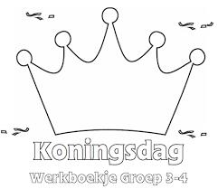 Koningsdag Werkboekje Groep 3 4 Koningsdag Onderwijs Lesideeën