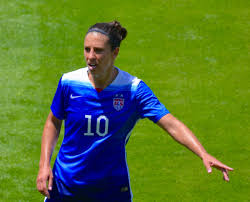 Carli lloyd is a famous american football player who currently plays as a midfielder for sky blue fc and for american senior women national team.she has won two olympic gold medals playing for her nation. Carli Lloyd Wiki Bio Age Career Height Spouse Position Net Worth