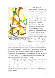 tok theory of knowledge essay what counts as knowledge in the arts  7