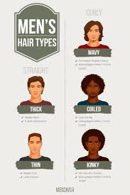 Mens Hair Types Chart The Complete Guide To All Hair Types With Visual Examples