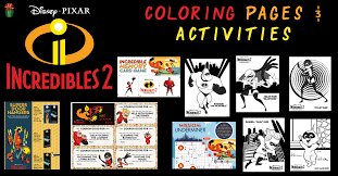 We've rounded up the biggest easter eggs and references in disney and pixar's incredibles 2 from as with any pixar movie, incredibles 2 is absolutely packed with easter eggs and references that you just hit 'like' on our digital spy facebook page and 'follow' on our @digitalspy instagram and. Incredibles 2 Coloring Pages And Activities Desert Chica