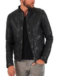 image is loading designer mens leather jacket black biker men slim