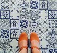 azulejos vinyl floor tiles