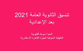 """انتظار البقية"""" تنسيق الثانوية العامة 2021 للصف الثالث الإعدادي محافظة  الدقهلية القليوبية سوهاج الغربية - أخبارنا"""
