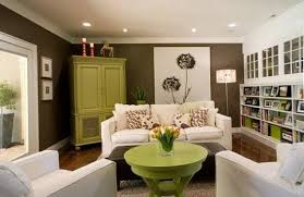 Brown And Green Living Room Decorating Ideas Green Colour Living Room Ideas  on Living Room Nice