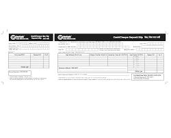 Free Cash Deposit Slip Template Receipt Form. Cash Deposit Slip Template
