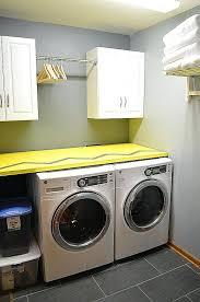diy countertop over washer dryer laundry room elegant counter full wallpaper photos el