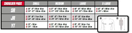Ccm Shin Guard Size Chart Ccm Super Tacks As1 Sr Hockey Shoulder Pads