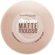Maybelline Dream Matte Mousse Foundation Classic Ivory 0 64 Oz