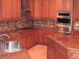 Kitchen Backsplash With Granite Countertops Interesting Gabriella Flooring Residential Commercial Portfolio Examples