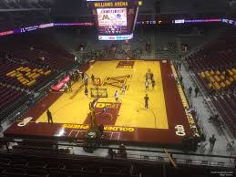 Williams Arena Minnesota Section 201 Rateyourseats Com
