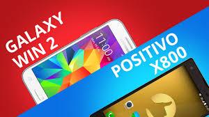 Samsung Galaxy Win 2 VS Positivo X800 ...