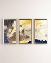 blue horizon giclee wall art set