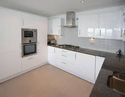 White Gloss Kitchen Cabinets Kitchen Design Ideas