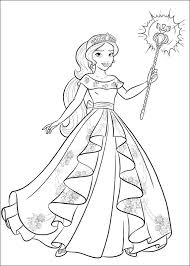 If you want to fill colors in elena of avalor disney pictures & you can make it more beautiful by filling your imaginative colors. Elena Of Avalor Coloring Pages Best Coloring Pages For Kids