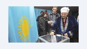 women in progress in the face of patriarchy and islam  a kazakh w casts her ballot at a polling station in the s commercial capital almaty