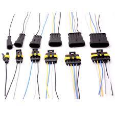<b>1 2 3 4 5 6 Way</b> 1P 2P 3P 4P 5P 1.5 Kit Auto Connector Male ...