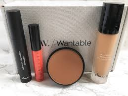 wantable makeup december 2016 subscription box review