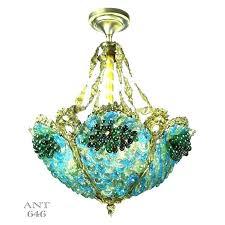 blue bead chandelier blue beaded chandelier medium size of wood bead turquoise oval shaped chandeliers light