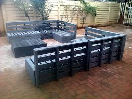 recycled pallets outdoor furniture. recycled pallet patio furniture set pallets outdoor