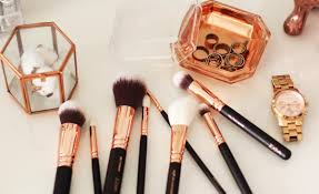 zoeva rose golden luxury plete eye set make up brushes