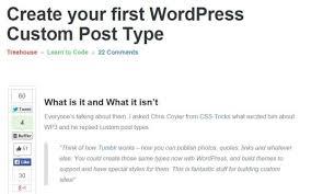 Team Treehouse Wordpress
