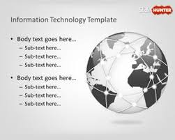 Technology Powerpoint Free Information Technology Powerpoint Template