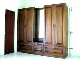 armoire with shelves and doors mirrored desk diy metal wardrobe cabinet used clothes home improvement licious