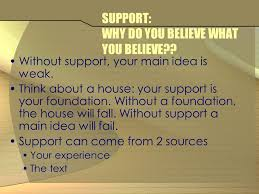 the well structured essay objectives students will review the  4 support