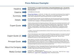 best press release template best press release examples barca fontanacountryinn com