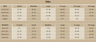 49 Circumstantial Nike Kids Sizing Chart