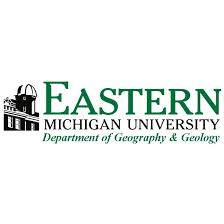 This image is the logo from Eastern Michigan's Department of Geography and Geology which is where all HIST courses take place.