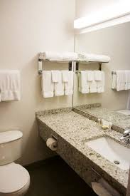 super 8 by wyndham port elgin 2nd floor newly renovated bathrooms with quartz countertops