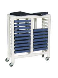 Medical Chart Carts With Vertical Racks Large Medical Chart Carts With Vertical Racks Medicus Health