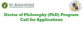 Doctor Applications Doctor Of Philosophy Phd Program Call For Applications November